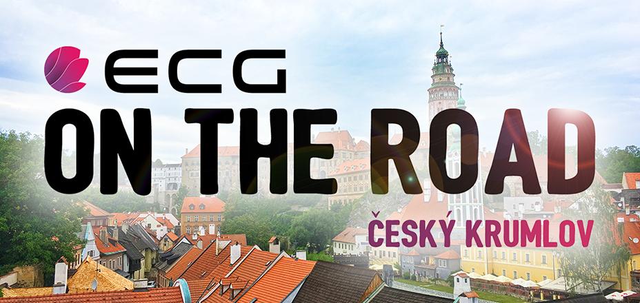 ECG roadshow u povijesnom centru Češkog Krumlova