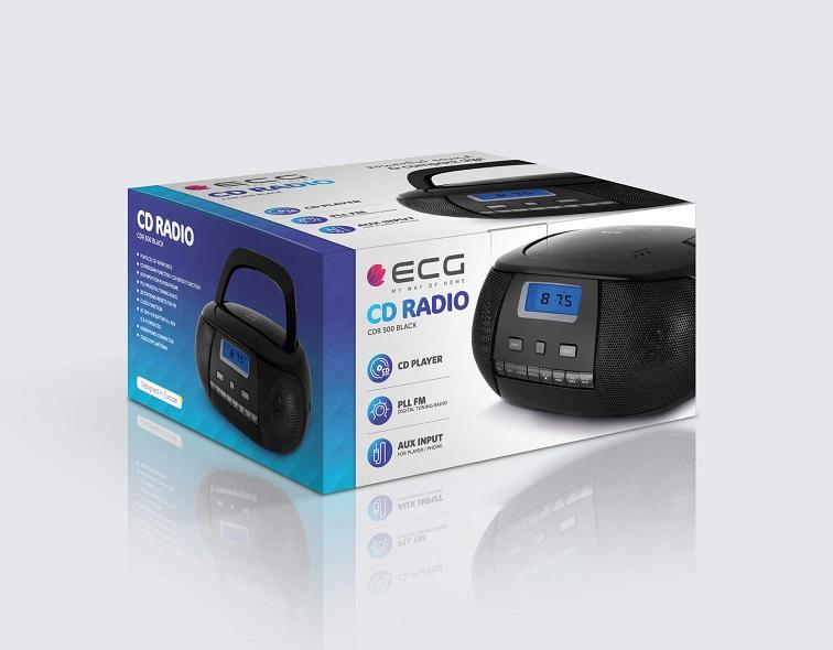 ECG CDR 500 Black