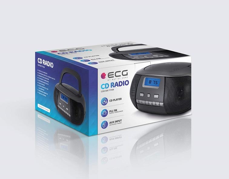 ECG CDR 500 Titan