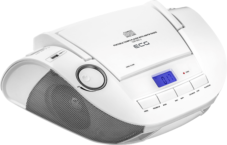 ECG CDR 800 U White