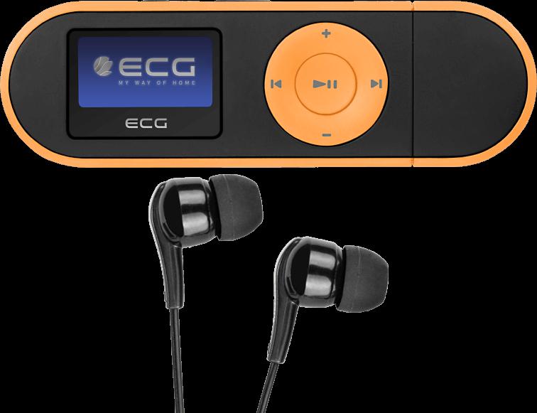 ECG PMP 20 4GB Black&Orange