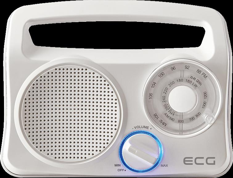 ECG R 222 White