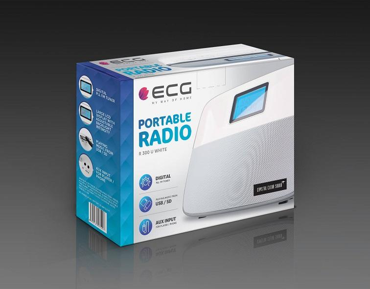 ECG R 300 U White