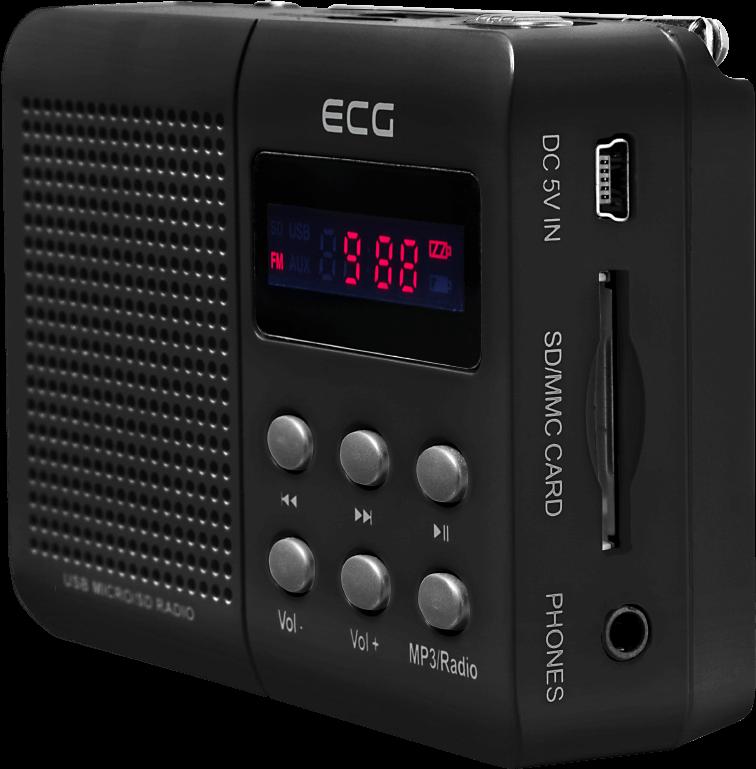 ECG R 155 U Black