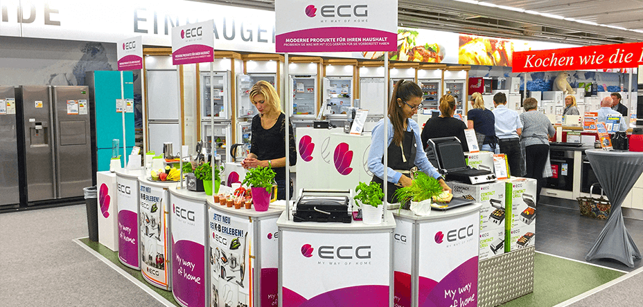 ECG roadshow u njemačkim prodavaonicama