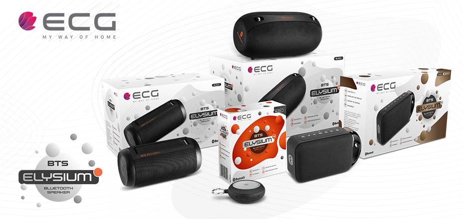 Predstavljamo novu liniju Bluetooth zvučnika iz ergele marke ECG
