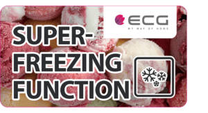 Predstavljamo vam popoln ameriški side-by-side hladilnik ECG ERS 21780 NIXA+