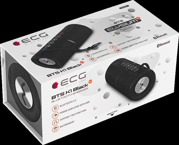 ECG BTS K1 Black