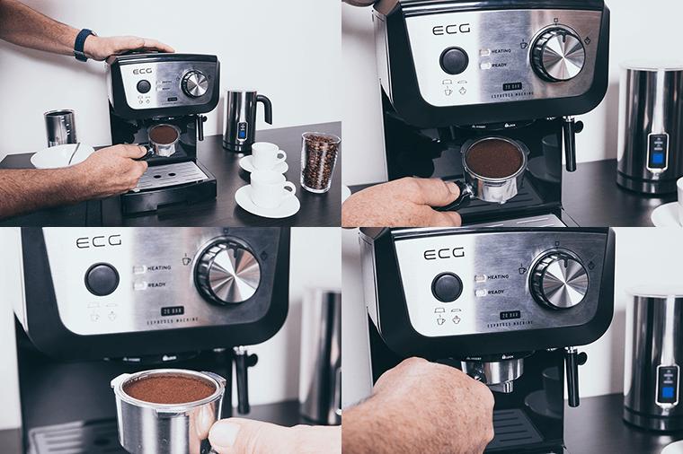 Πώς να χειρίζεστε σωστά το group της μηχανής espresso