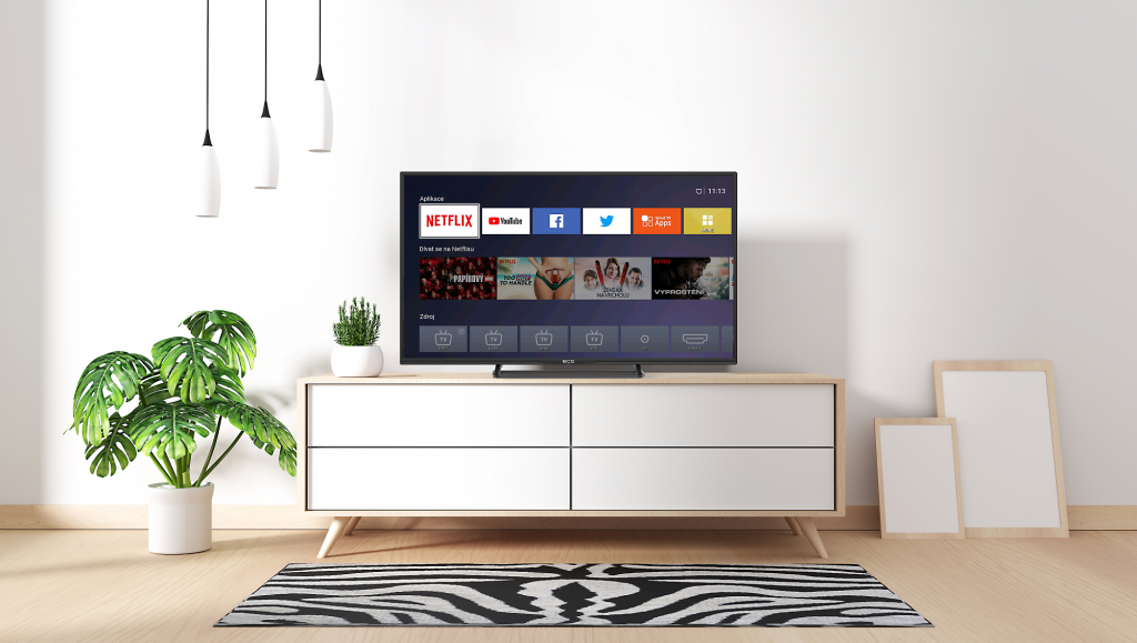 A smarter level of watching. ECG enters the world of Smart TV