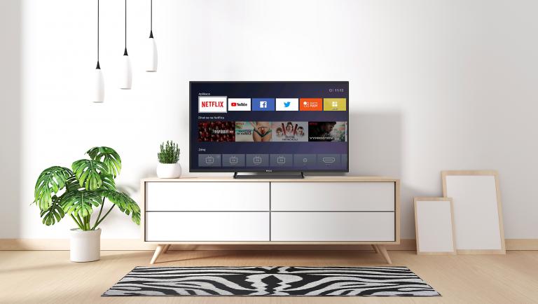 Smartes Fernsehen. ECG betritt die Welt der Smart TVs.