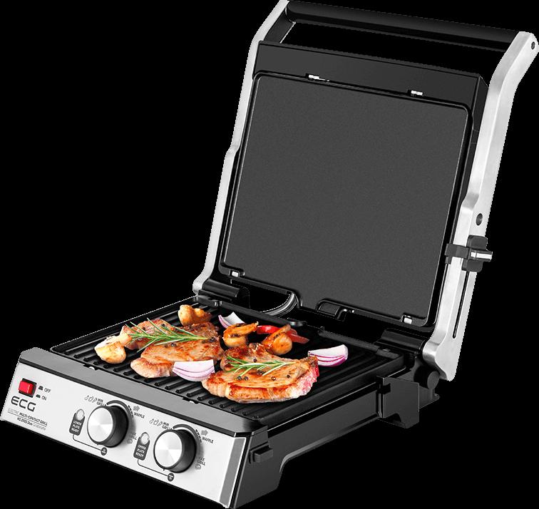 ECG KG 2033 Duo Grill & Waffle
