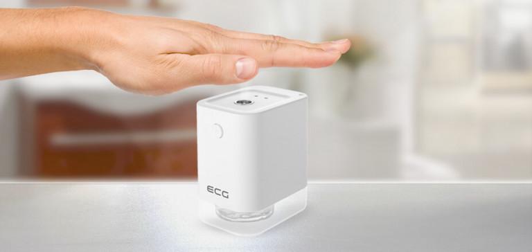 Rozpylacz środka dezynfekującego ECG DS 1010 zapewnia właściwą higienę rąk