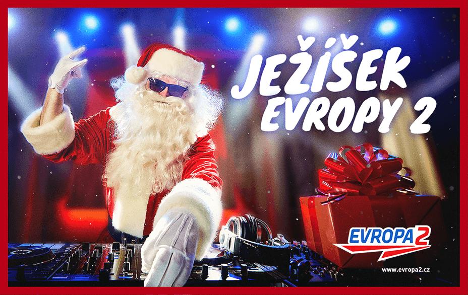 Ježíšek Evropy 2 naděluje výrobky ECG