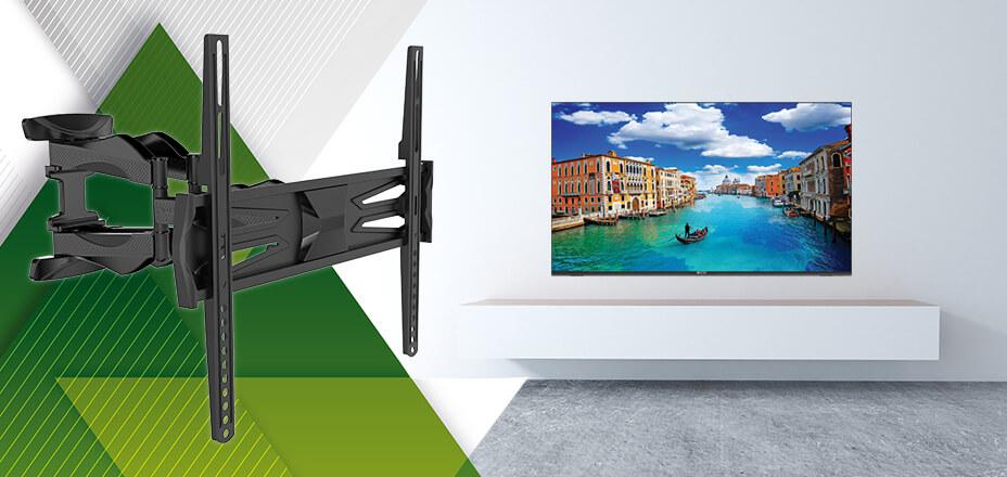 Kako objesiti televizor na zid? Jedino s držačem za TV