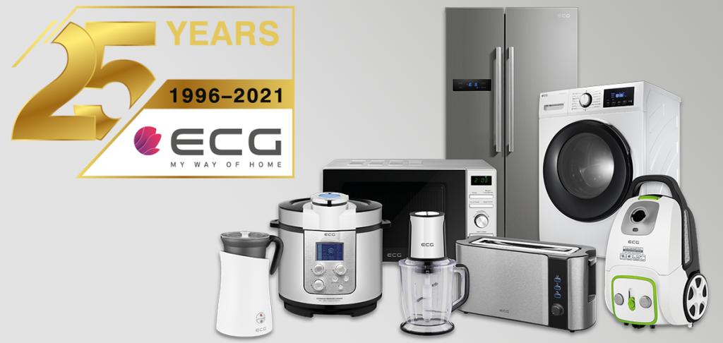 ECG slavi 25 godina. Marka je započela proizvodnju s mikrovalnim pećnicama.