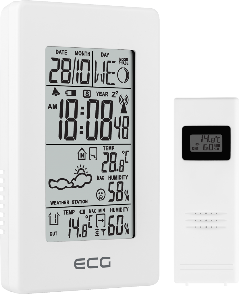 ECG MS 100 White