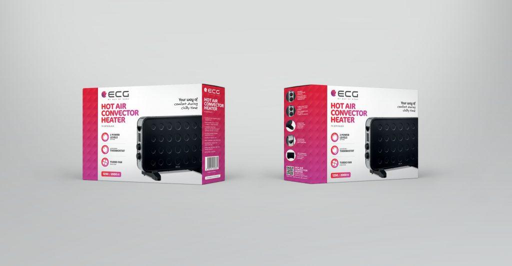 ECG TK 2070 Black