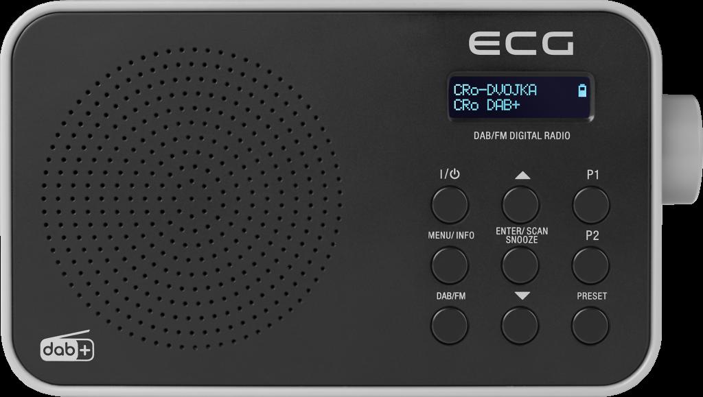 ECG RD 110 DAB Black