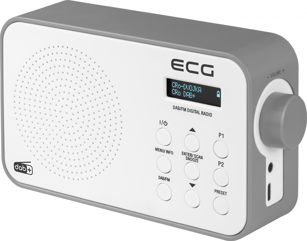 ECG RD 110 DAB White